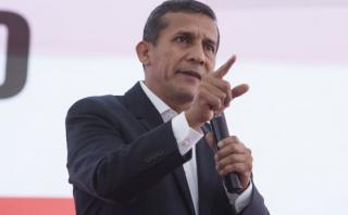 Ollanta Humala pide fijar posición sobre políticas de Estado