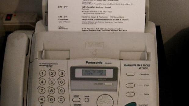 El fax sigue siendo un método preferencial para la comunicación hasta en las grandes empresas. (Foto: Thinkstock)