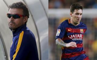 Lionel Messi: Luis Enrique negó que su recuperación sea lenta