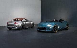 SEMA: Mazda presentó dos concepts basados en el MX-5 [FOTOS]