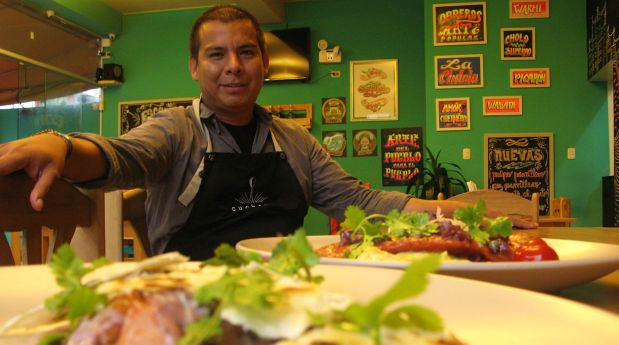 Dennys Yupanqui, el chef que sueña con crear una cocina auténtica y única a partir de la tradición. (Foto: Carina Barreda)