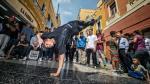 Breakdancers lucieron estilo y acrobacias en las calles de Lima - Noticias de coliseo miguel grau
