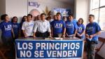 Miembros del partido de Lay protestaron por alianza con Acuña - Noticias de cesar vallejos