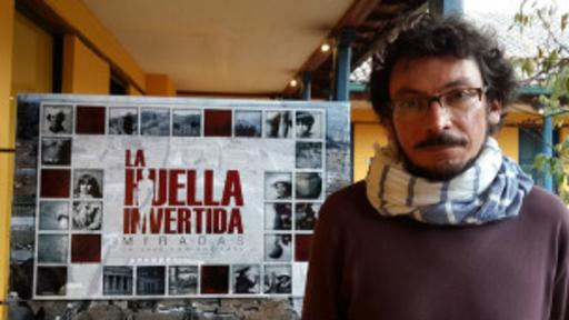La exposición La otra huella fue presentada por el bisnieto de Laso, quien también es fotógrafo. (Foto: Jos Domingo Laso)