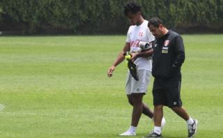 Selección peruana: lesión de Renato Tapia no es grave
