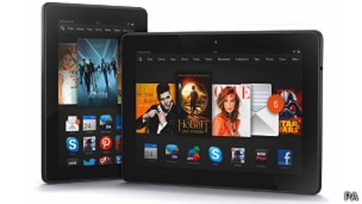 En la tienda, Amazon también venderá sus dispositivos para leer libros electrónicos. (BBC)