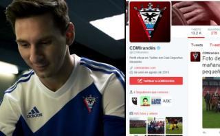 """Club de Segunda de España anunció """"fichaje"""" de Lionel Messi"""