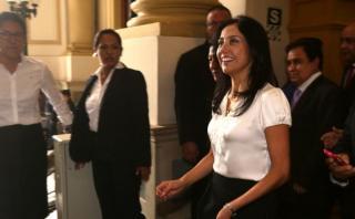 Nadine Heredia citada al Congreso por agendas para el lunes 9