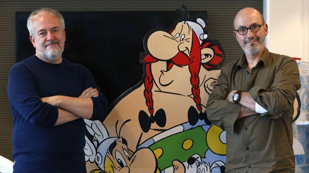 Autores Jean-Yves Ferri y Didier Conrad . (Foto: Reuters)