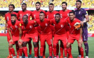 Ránking FIFA: selección peruana descendió siete posiciones