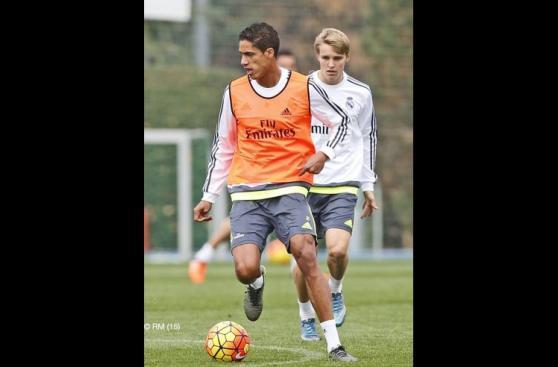 Gareth Bale volvió a los entrenamientos del Real Madrid