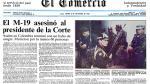 A 30 años de la toma del Palacio de Justicia de Colombia - Noticias de hellen ospina