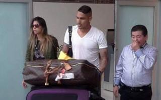 """Paolo Guerrero llegó a Lima: """"No hay tiempo que perder"""""""