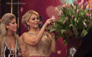 Jefferson Farfán le regaló 100 tulipanes a Yahaira Plasencia