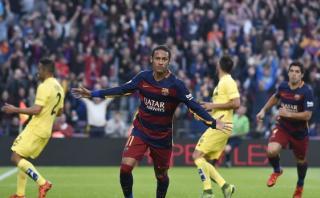 Barcelona: Neymar define tras excepcional pase de Busquets