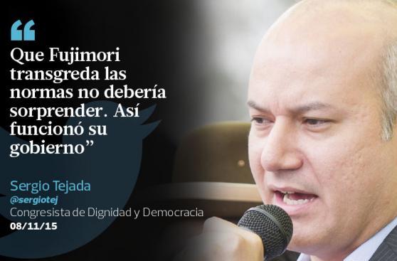 Críticas a Alan García y Fujimori en los tuits destacados