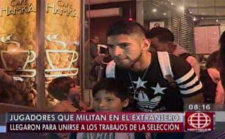Selección peruana: jugadores del exterior llegaron a Lima