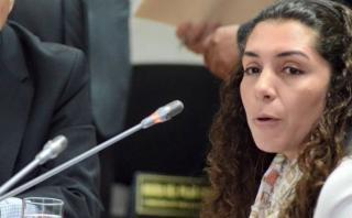 "Rocío Calderón: ""No puedo asumir ningún contenido de agendas"""