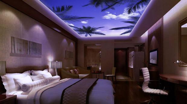 Observa el cielo en cualquier cuarto con estas ventanas - Luces led para cuartos ...
