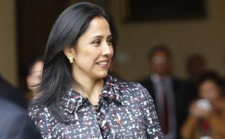 Nadine Heredia se retiró de Fiscalización sin hablar de agendas