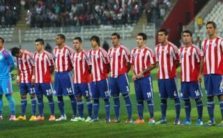 Paraguay llegó a Lima para enfrentar a la selección peruana