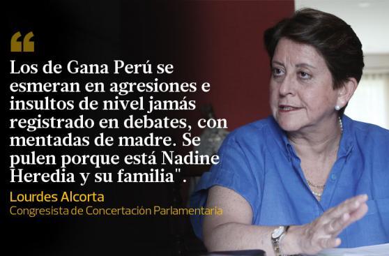 Nadine Heredia: frases que dejó su presencia en Fiscalización