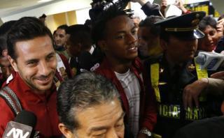 Selección peruana se completó con llegada de Claudio Pizarro