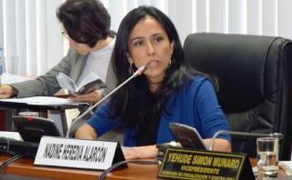 Nadine Heredia y sus 4 investigaciones en el Ministerio Público