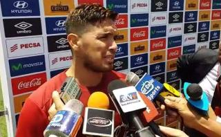 """Vargas no está al 100%: """"Quiero jugar, pero no sé cómo rinda"""""""