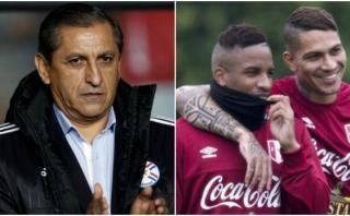 Ramón Díaz lanzó advertencia a Guerrero y Jefferson Farfán