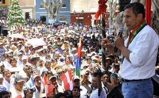 """Humala: """"Programas sociales son legado para futuros gobiernos"""""""