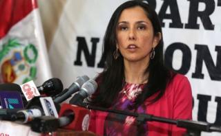 Nadine Heredia: fiscalía aclara que sí la citó para declarar