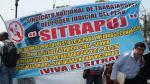Poder Judicial: trabajadores iniciaron protesta de 48 horas - Noticias de ley servir