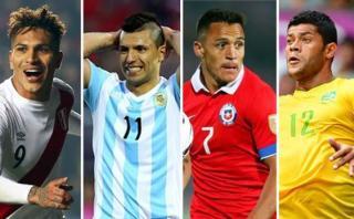 Tabla de posiciones de Eliminatorias Rusia 2018 en Sudamérica