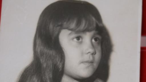 Oliveira en su niñez, antes de ser vendida por su abuela  a un jefe del juego clandestino. (Foto cortesía de Raquel de Oliveira)