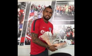 Arturo Vidal regaló 100 entradas para el Chile vs. Colombia