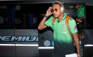 Selección de Brasil llegó a Argentina con Neymar a la cabeza