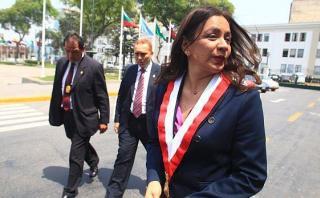 Marisol Espinoza no se siente afectada por críticas de Humala