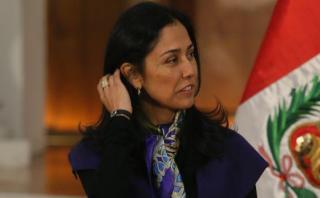 Nadine Heredia pasó a investigada en Comisión de Fiscalización