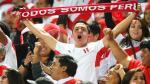 Perú vs. Paraguay: si vas al estadio, atento durante los himnos - Noticias de campaña de salud