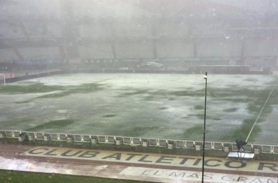 Argentina vs. Brasil: así lucía el Monumental por lluvia