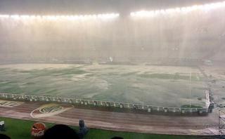 Argentina vs Brasil: partido se suspendió por fuertes lluvias