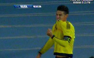James Rodríguez y su golazo a Chile con huacha incluida