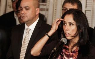 """Nadine Heredia: """"Las agendas fueron robadas de mi domicilio"""""""