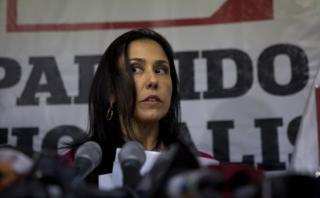 """Nadine Heredia: """"Las agendas no tienen que ver con corrupción"""""""