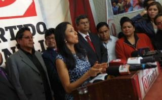 """Nadine Heredia: El TC falló en mi contra para """"no sancocharse"""""""