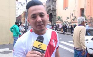 Perú vs. Paraguay: hinchas confían en victoria nacional (VIDEO)