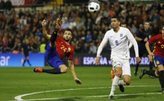 Mario Gaspar marcó este golazo para España ante Inglaterra