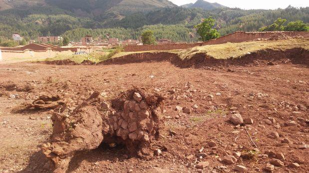 Cusco: andenes incas de sitio arqueológico fueron destruidos