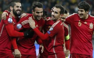 España venció 2-0 a Inglaterra en amistoso FIFA